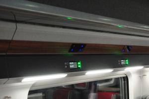Train Reading Lights Teknoware