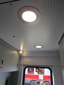 Train Vestibule Lights