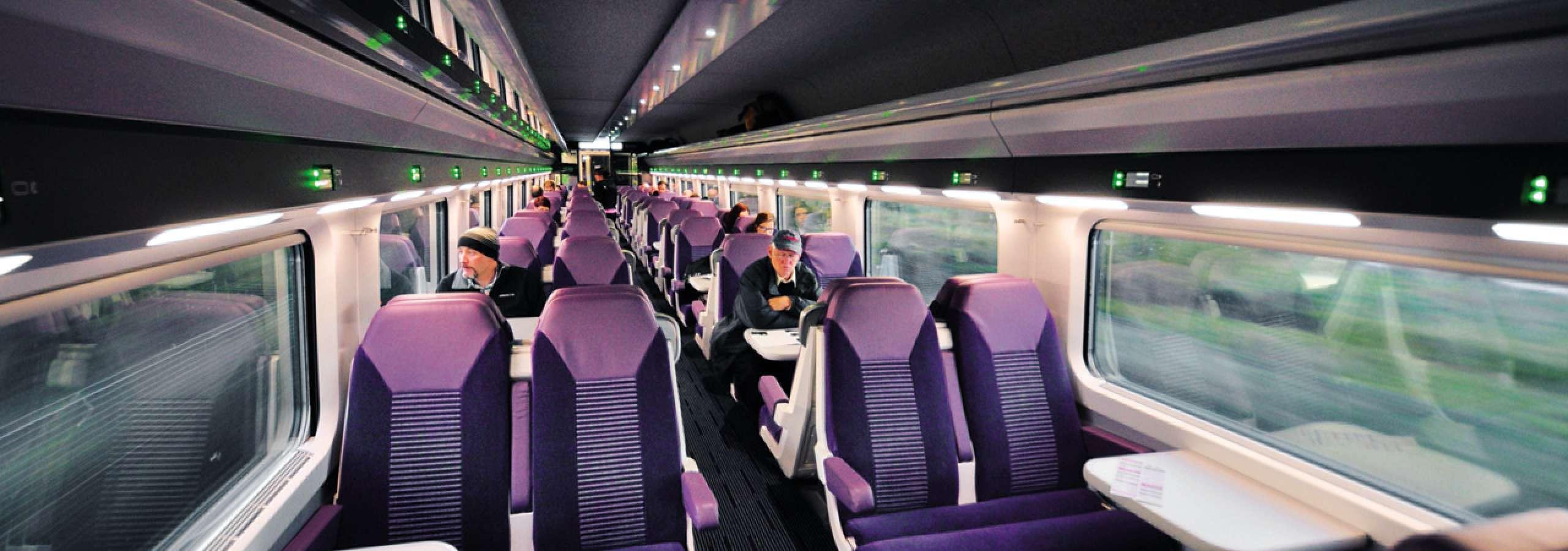 Erneuerung der Zugbeleuchtung