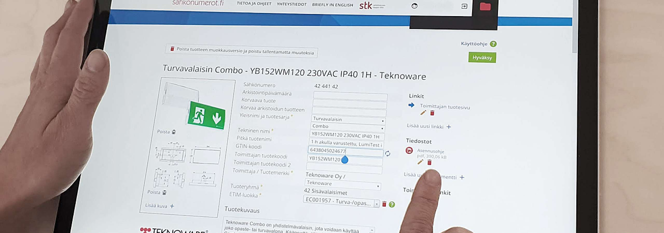 TEKNOWARE IS THE BEST UPDATER OF PRODUCT DATA AMONG EMERGENCY LIGHTING COMPANIES