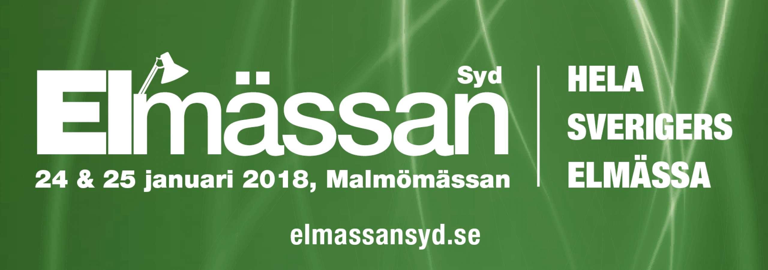 Teknoware i Elmässan Syd 2018
