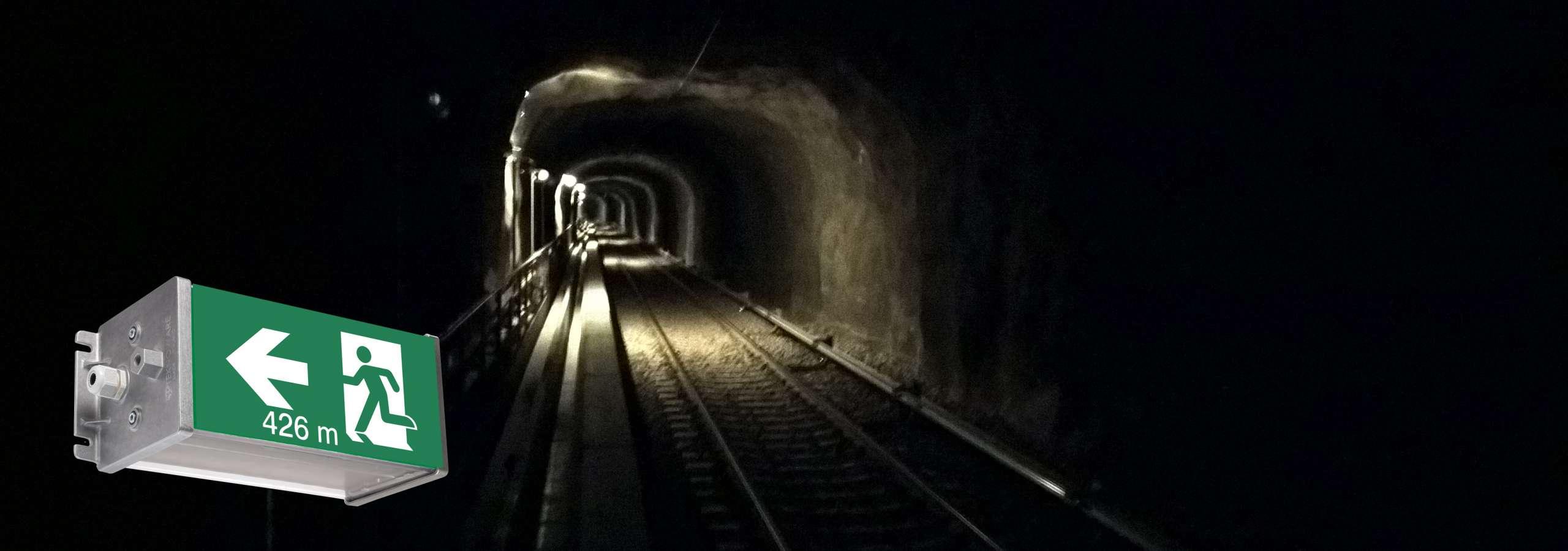 Tunneleiden turvavalaistus