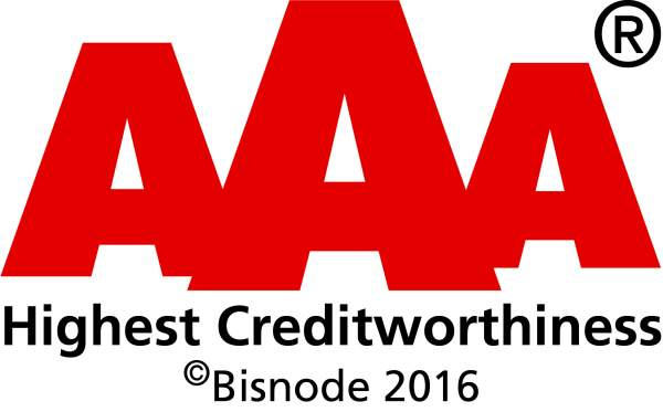 Highest Creditworthiness 2016 logo