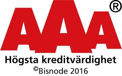 Högsta kreditvärdighet 2016 logo