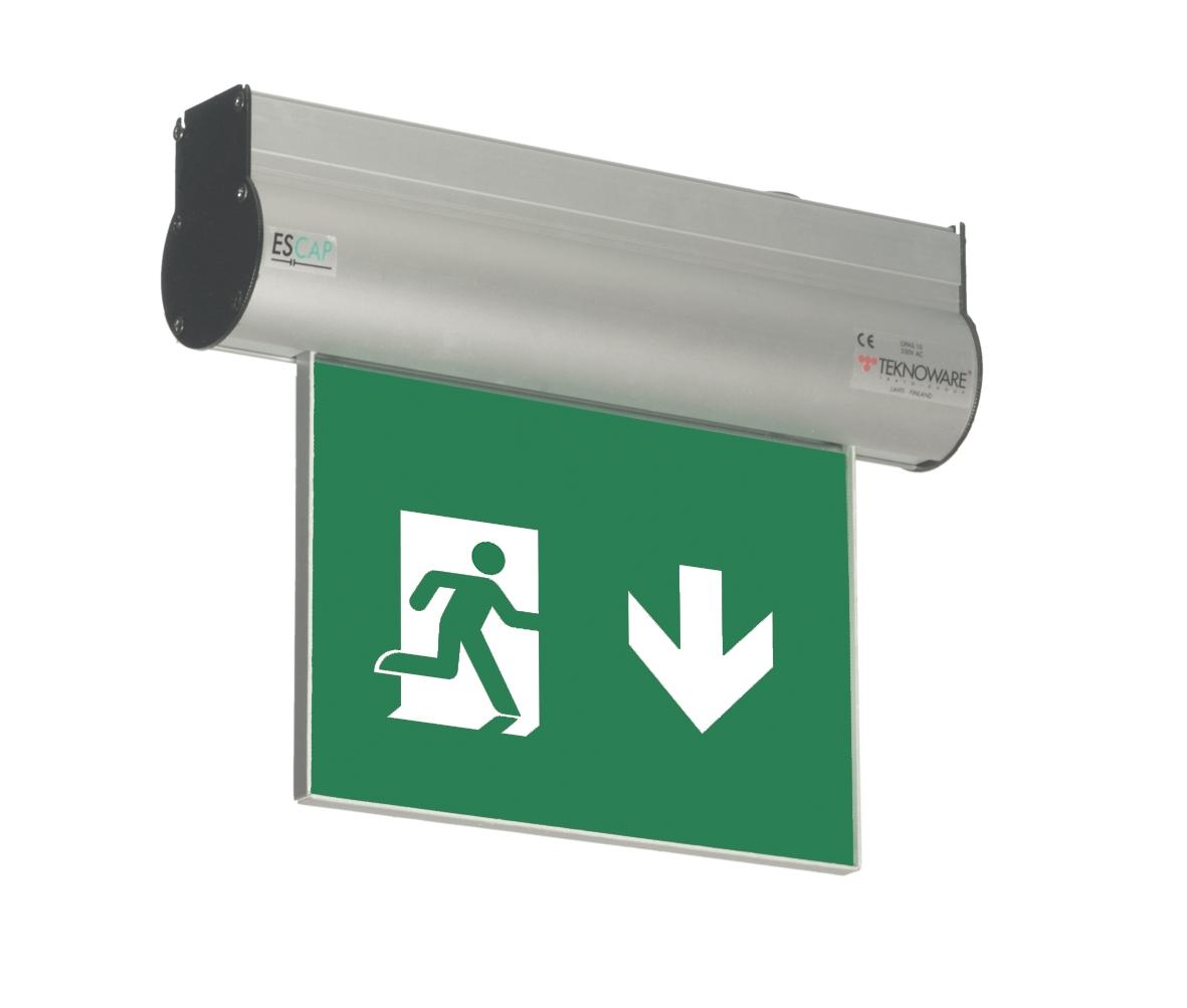 Esc 10 Led Emergency Exit Light Tws8592wm Teknoware