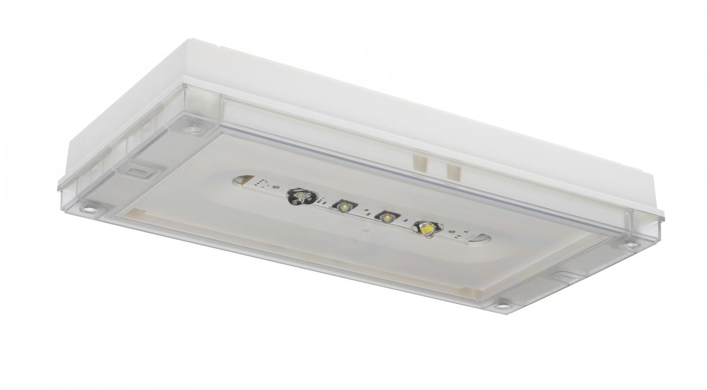 Solid zone lowbay led emergency light y3271w teknoware 24 230 v 5060 hz ac dc aloadofball Gallery