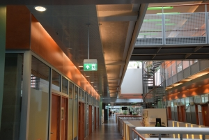 Teknoware's ESC 80 Exit Lights in the University of Radboud